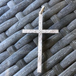 Jewelry - Antique Cross Sterling Silver Pendant